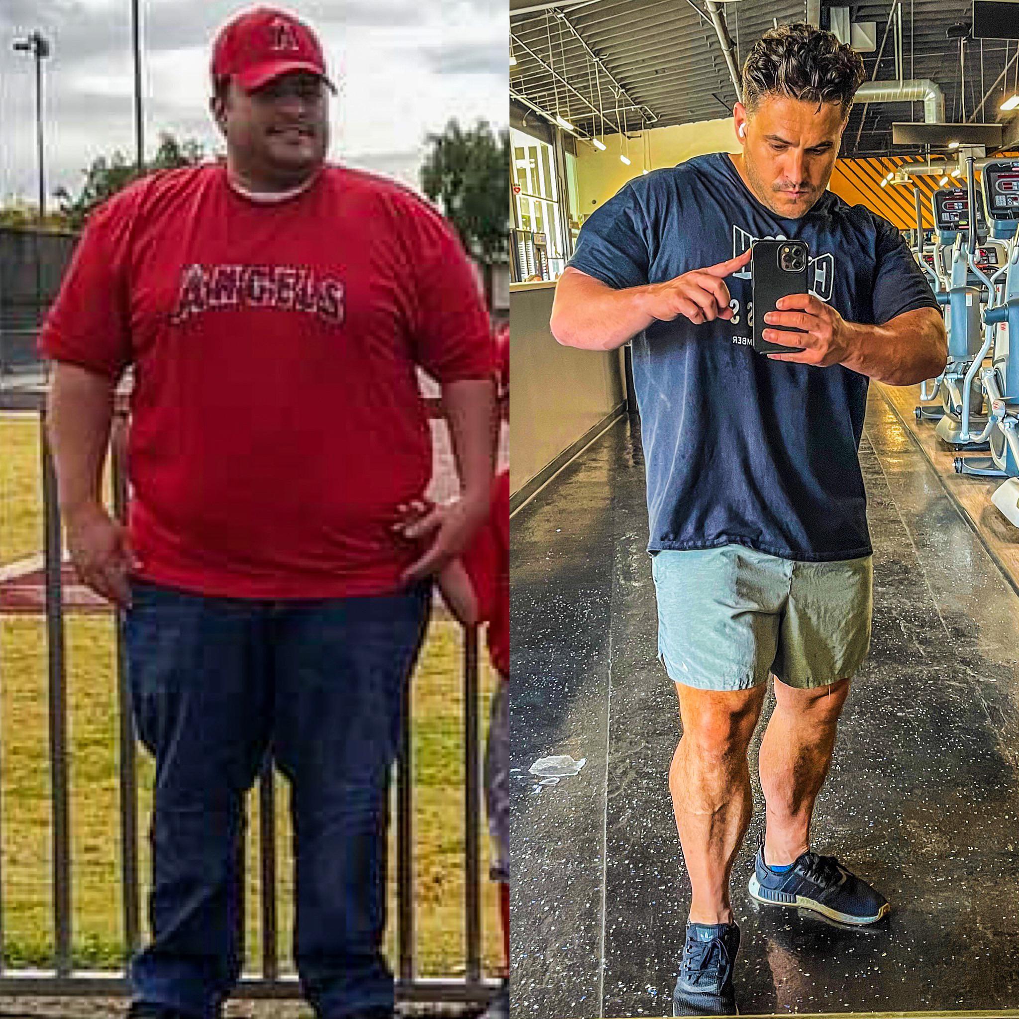 5'8 Male 175 lbs Fat Loss 400 lbs to 225 lbs