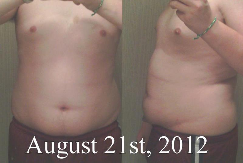 76 lbs Fat Loss 5'9 Male 210 lbs to 134 lbs
