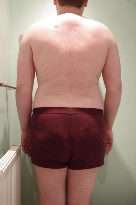3 Pics of a 5'11 240 lbs Male Weight Snapshot