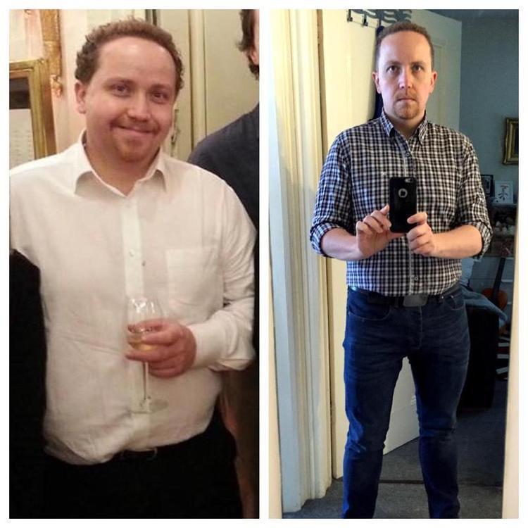 43 lbs Fat Loss 5'6 Male 225 lbs to 182 lbs