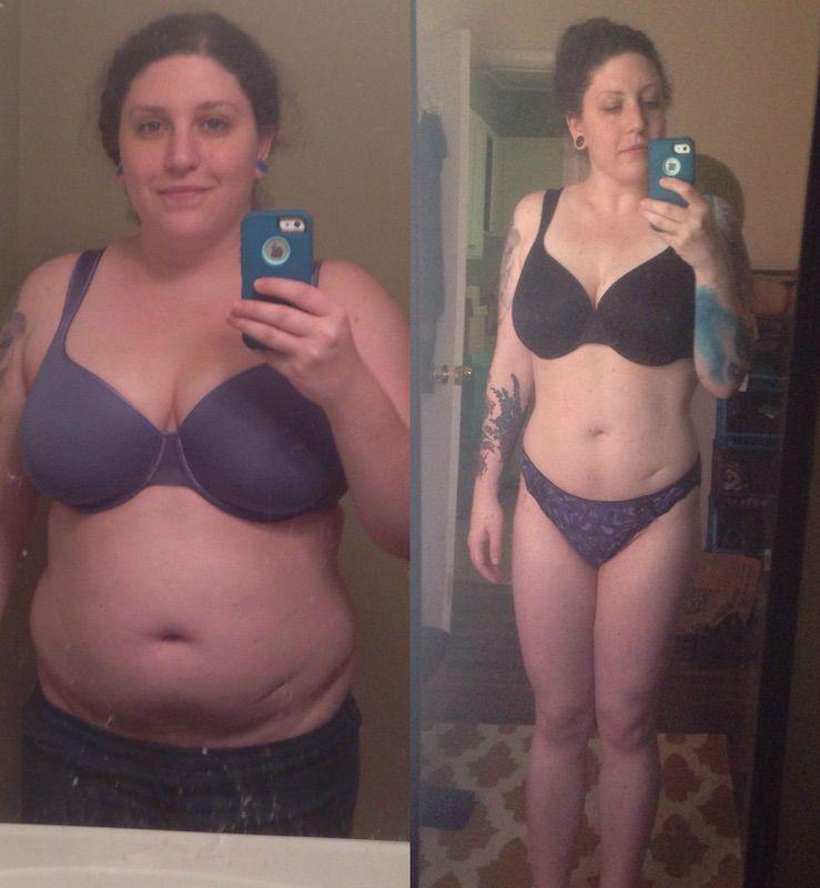 5 feet 6 Female 40 lbs Fat Loss 217 lbs to 177 lbs