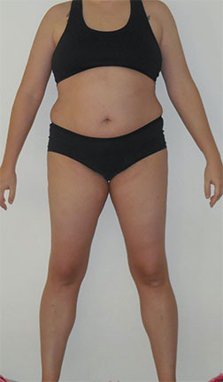4 Pics of a 5'7 180 lbs Female Weight Snapshot