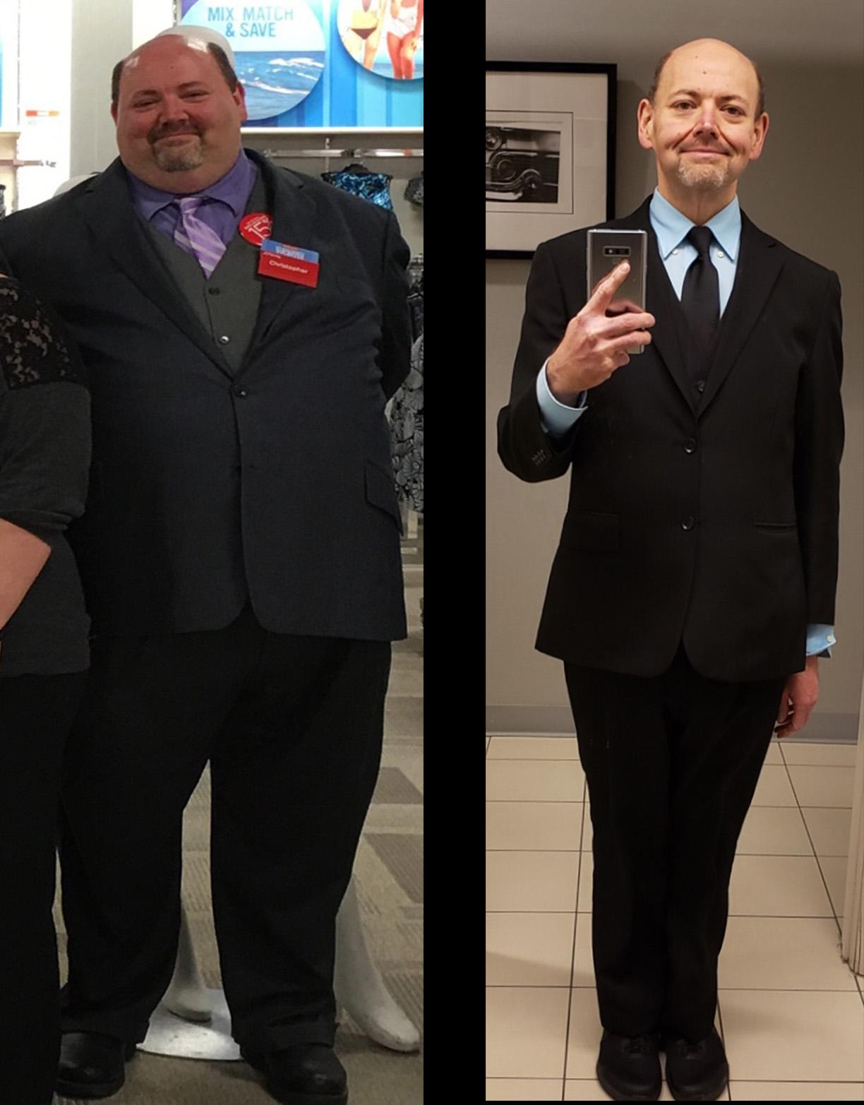 247 lbs Fat Loss 5 feet 10 Male 418 lbs to 171 lbs