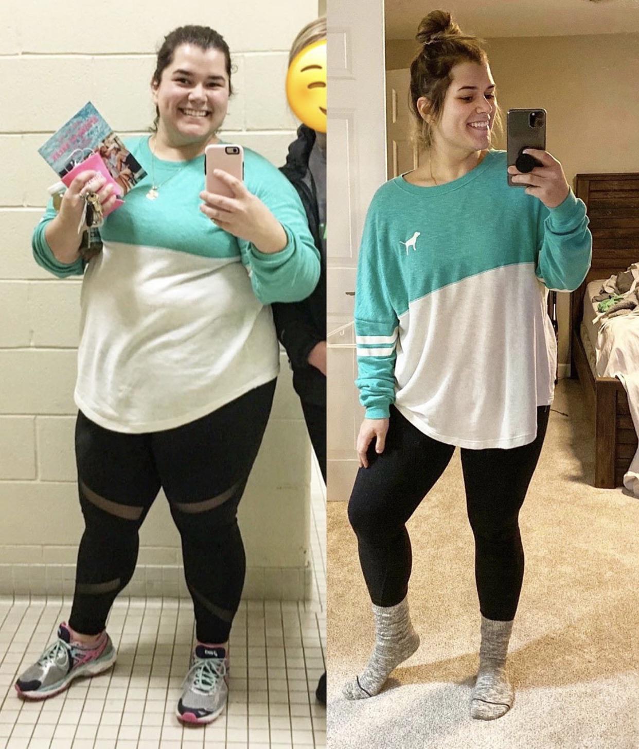 91 lbs Weight Loss 5'3 Female 281 lbs to 190 lbs