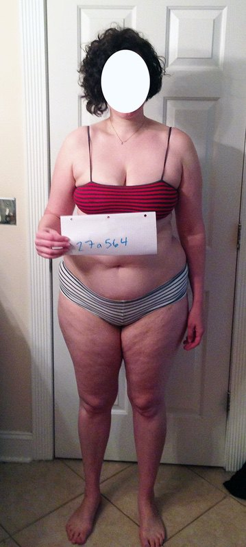 4 Pics of a 215 lbs 6 foot Female Fitness Inspo