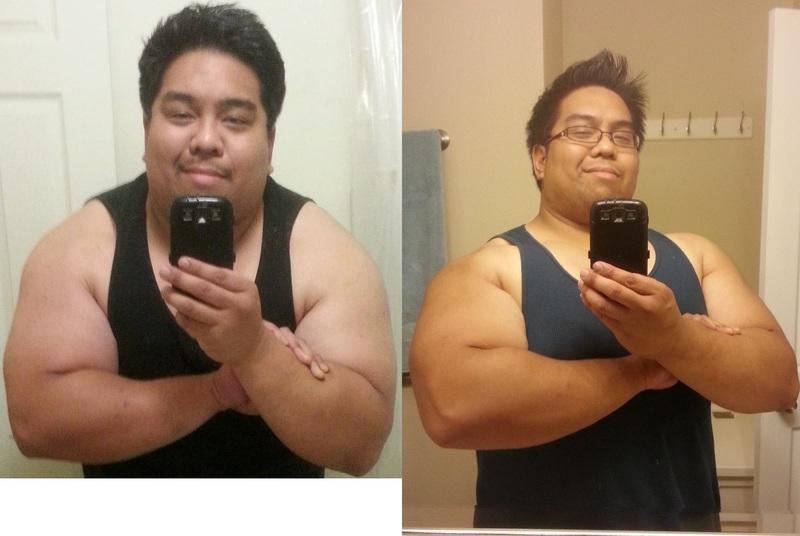 31 lbs Fat Loss 5'8 Male 327 lbs to 296 lbs
