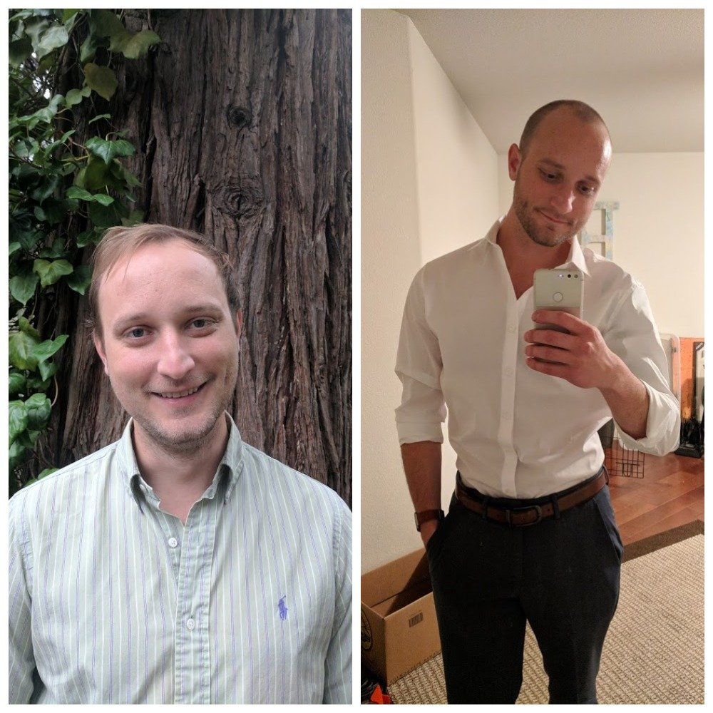 15 lbs Fat Loss 5 foot 11 Male 180 lbs to 165 lbs