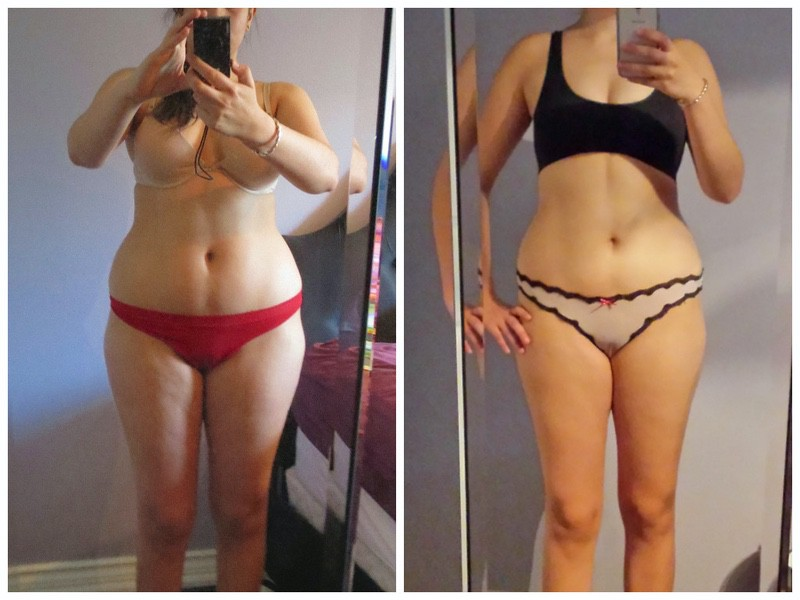 20 lbs Fat Loss 5'9 Female 180 lbs to 160 lbs