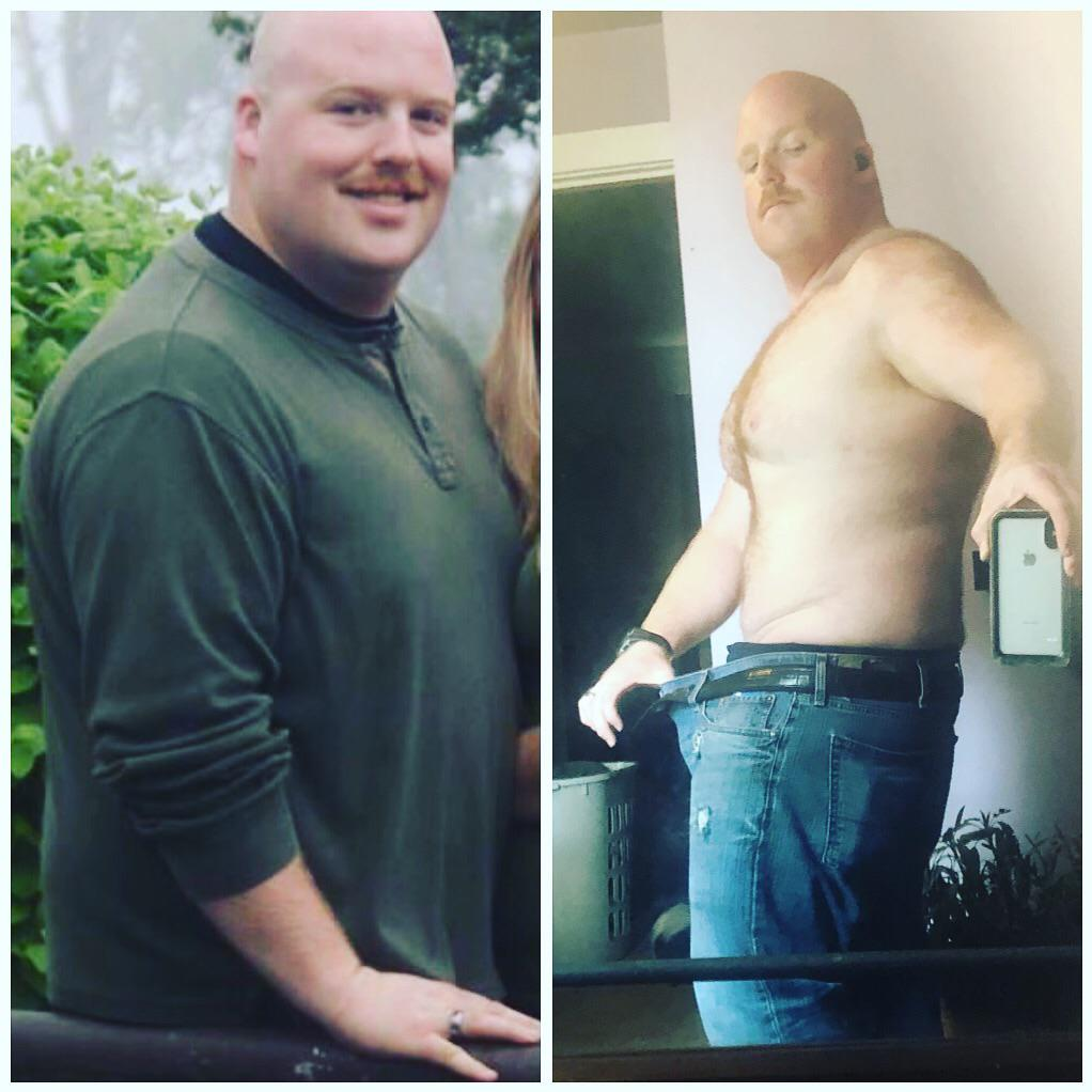 5 foot 10 Male Progress Pics of 55 lbs Weight Loss 300 lbs to 245 lbs