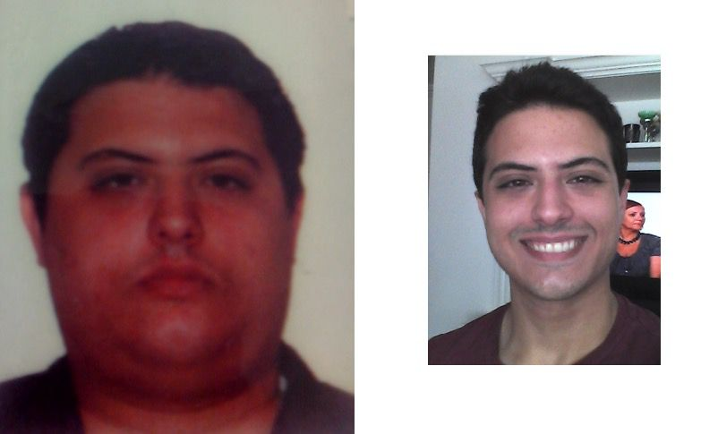 5 foot 10 Male 95 lbs Weight Loss Before and After 275 lbs to 180 lbs
