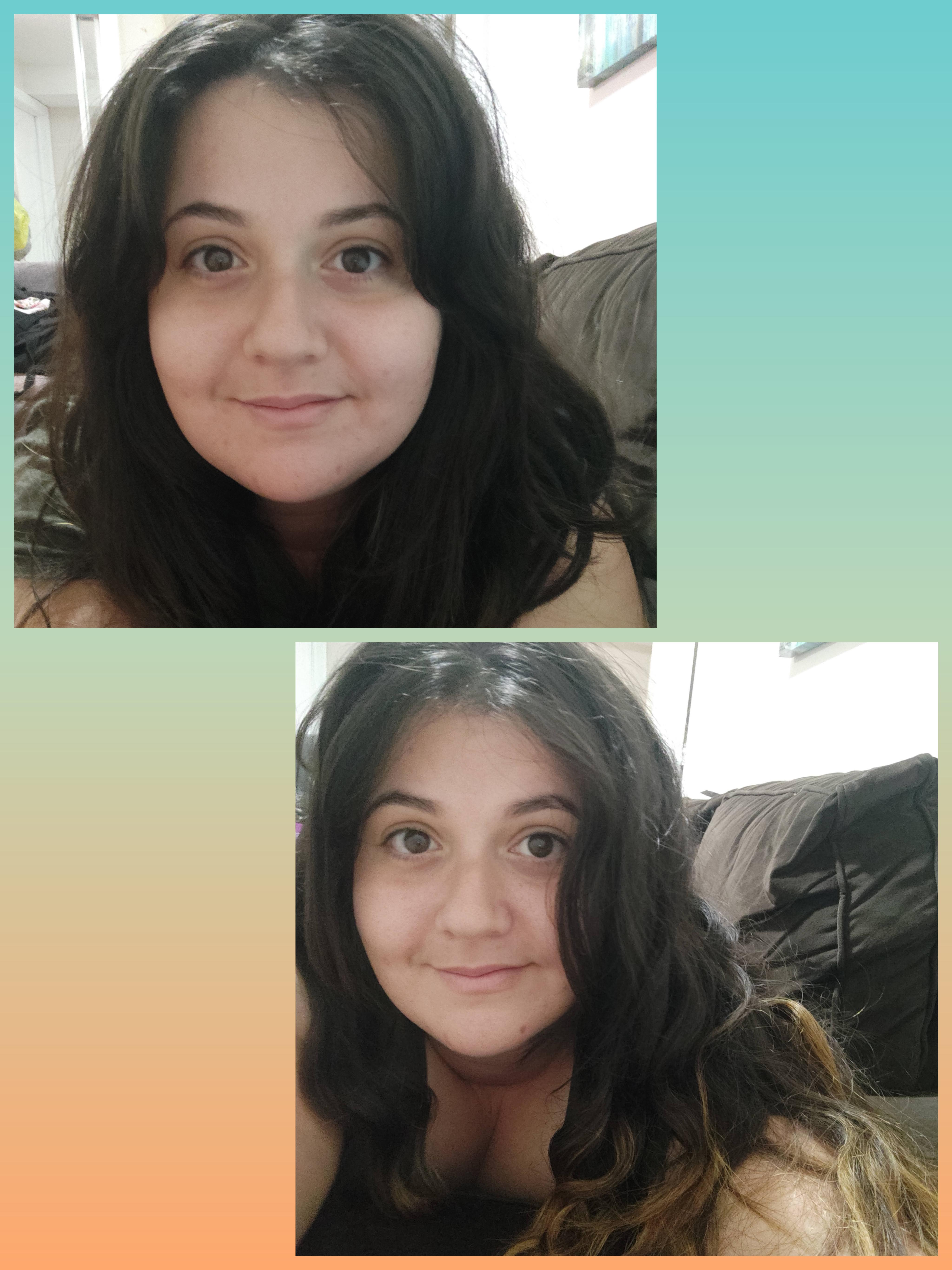 Progress Pics of 25 lbs Weight Loss 5'8 Female 215 lbs to 190 lbs