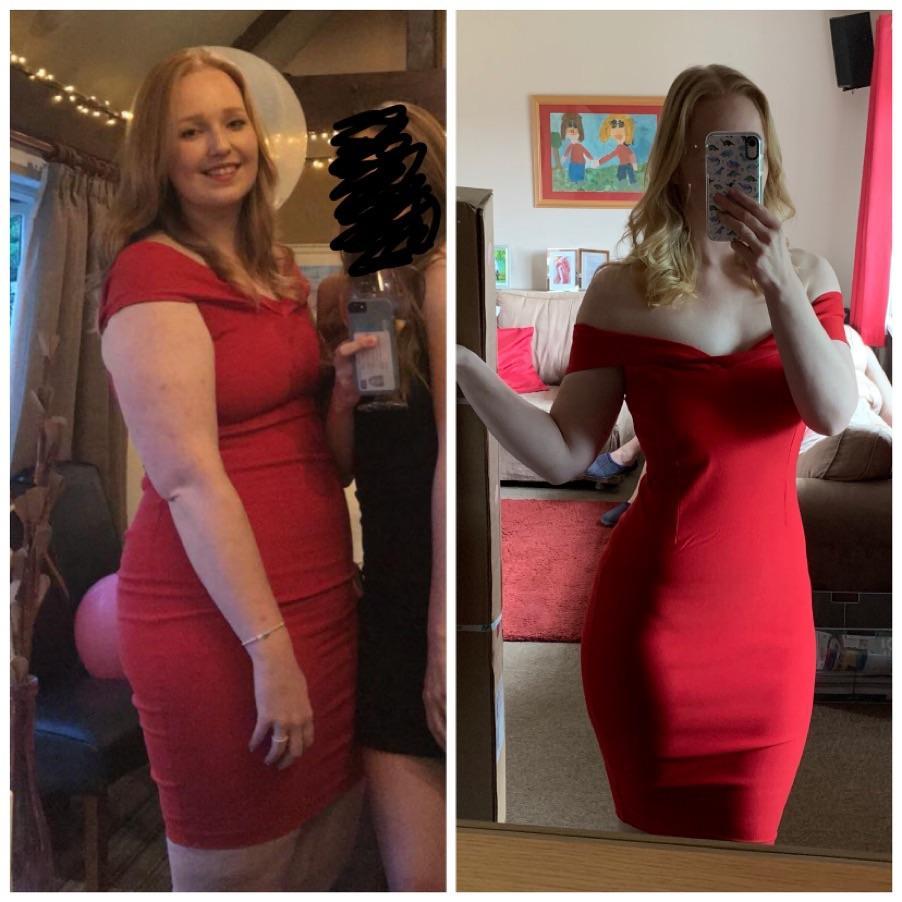 6 foot Female Progress Pics of 35 lbs Weight Loss 226 lbs to 191 lbs