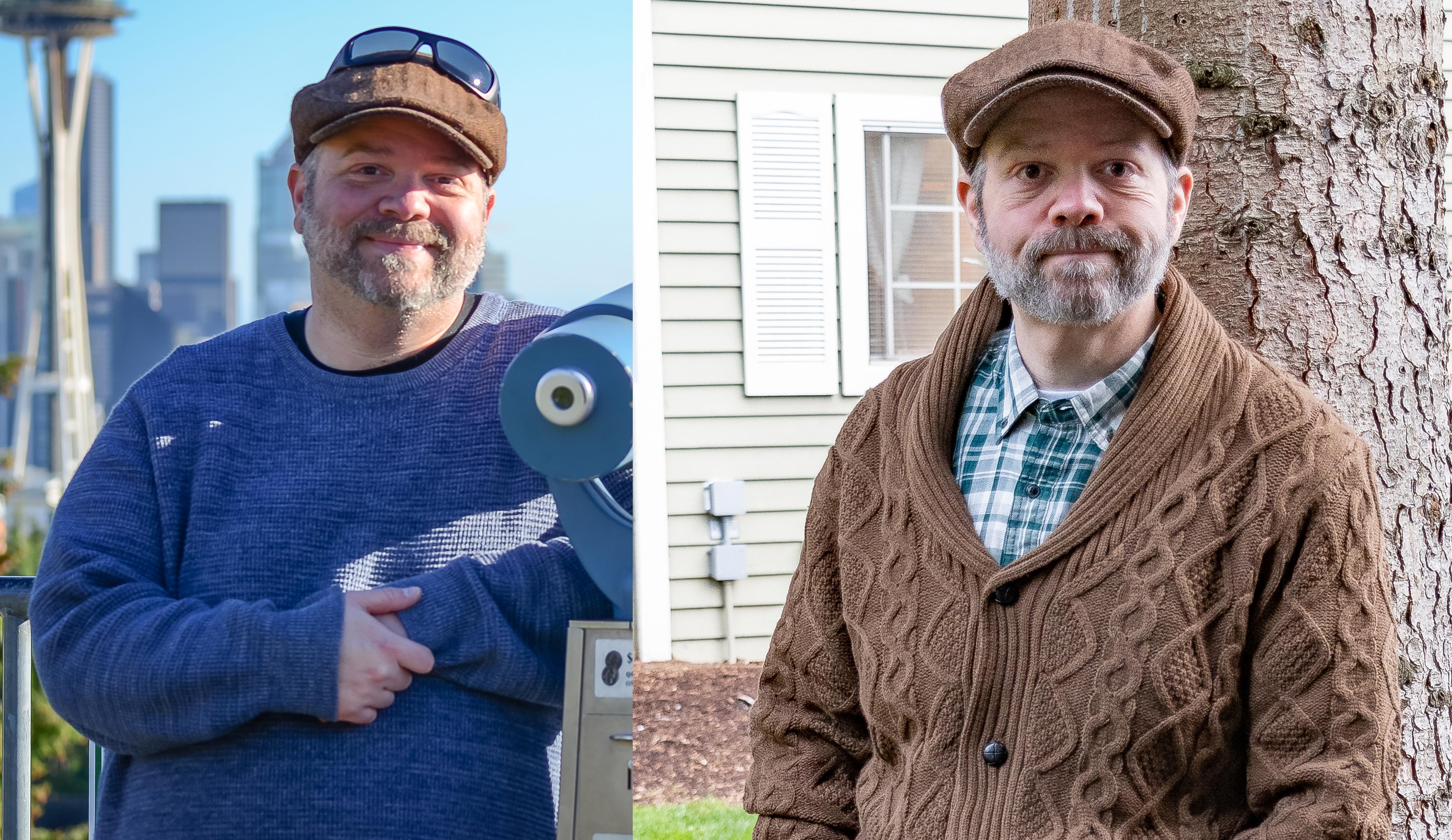 Progress Pics of 140 lbs Weight Loss 5'10 Male 325 lbs to 185 lbs