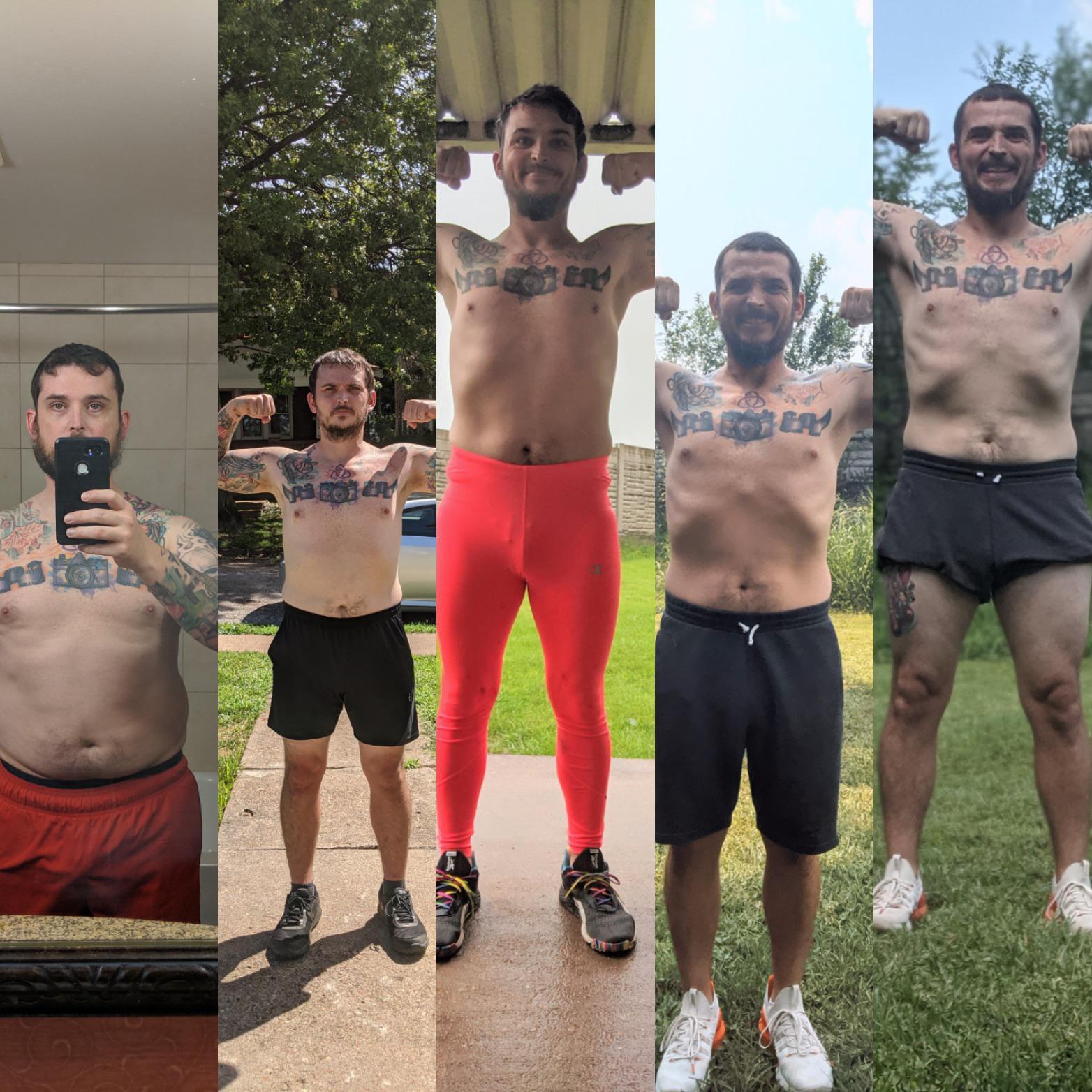 26 lbs Weight Loss 5 foot 10 Male 230 lbs to 204 lbs