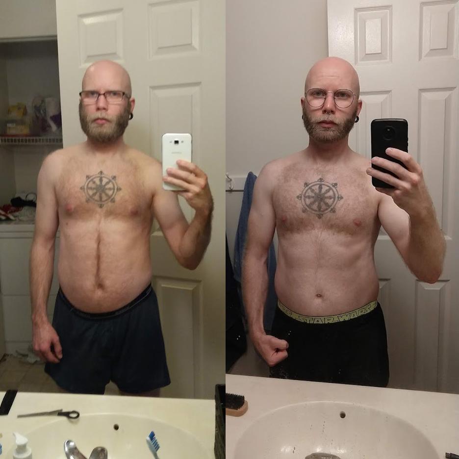 Progress Pics of 15 lbs Muscle Gain 5 feet 7 Male 130 lbs to 145 lbs