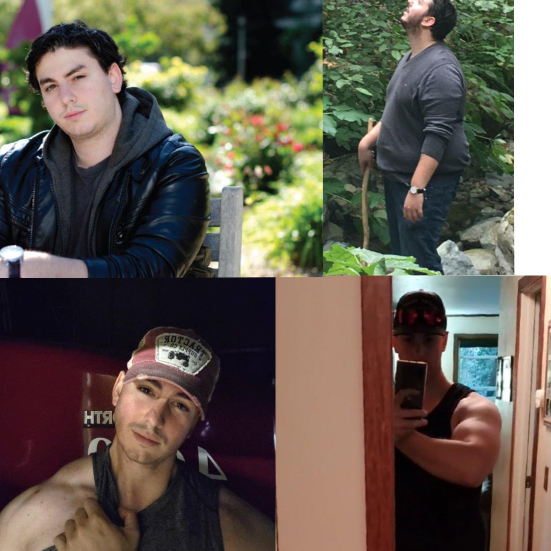 6 foot 2 Male Progress Pics of 135 lbs Fat Loss 360 lbs to 225 lbs