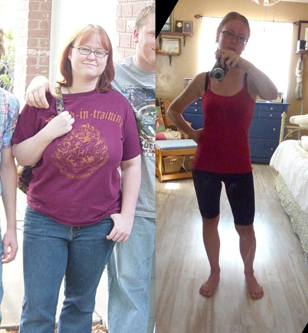 5 feet 3 Female Before and After 85 lbs Fat Loss 200 lbs to 115 lbs