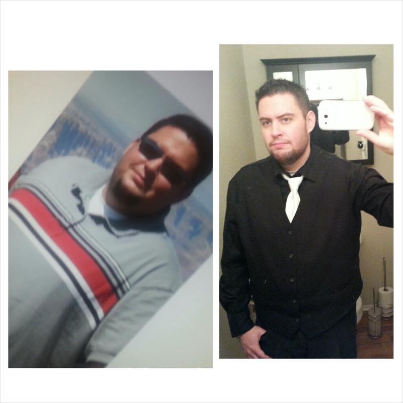 6 feet 1 Male Progress Pics of 135 lbs Weight Loss 360 lbs to 225 lbs