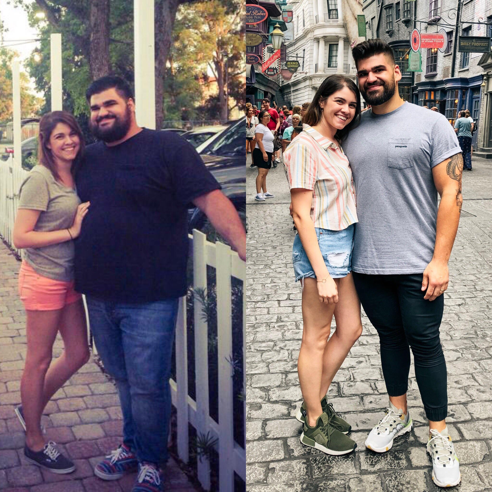 6 foot Male Progress Pics of 160 lbs Weight Loss 425 lbs to 265 lbs