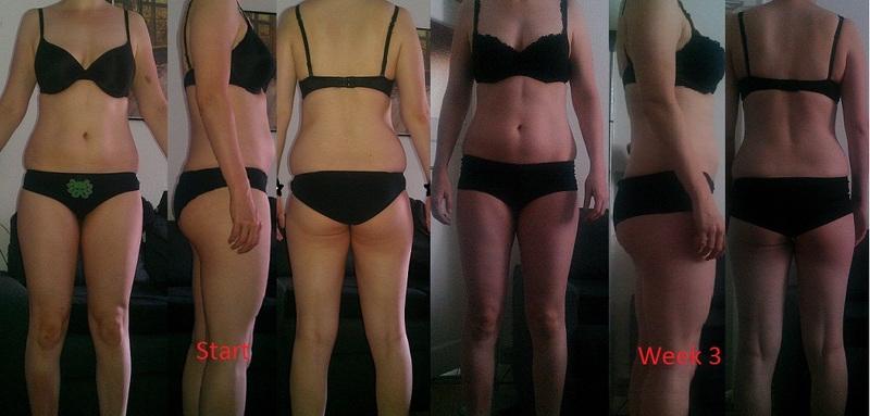 Progress Pics of 7 lbs Fat Loss 6 foot 1 Female 176 lbs to 169 lbs