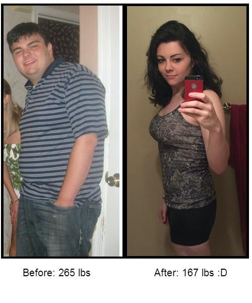 5'9 Female Progress Pics of 98 lbs Fat Loss 265 lbs to 167 lbs