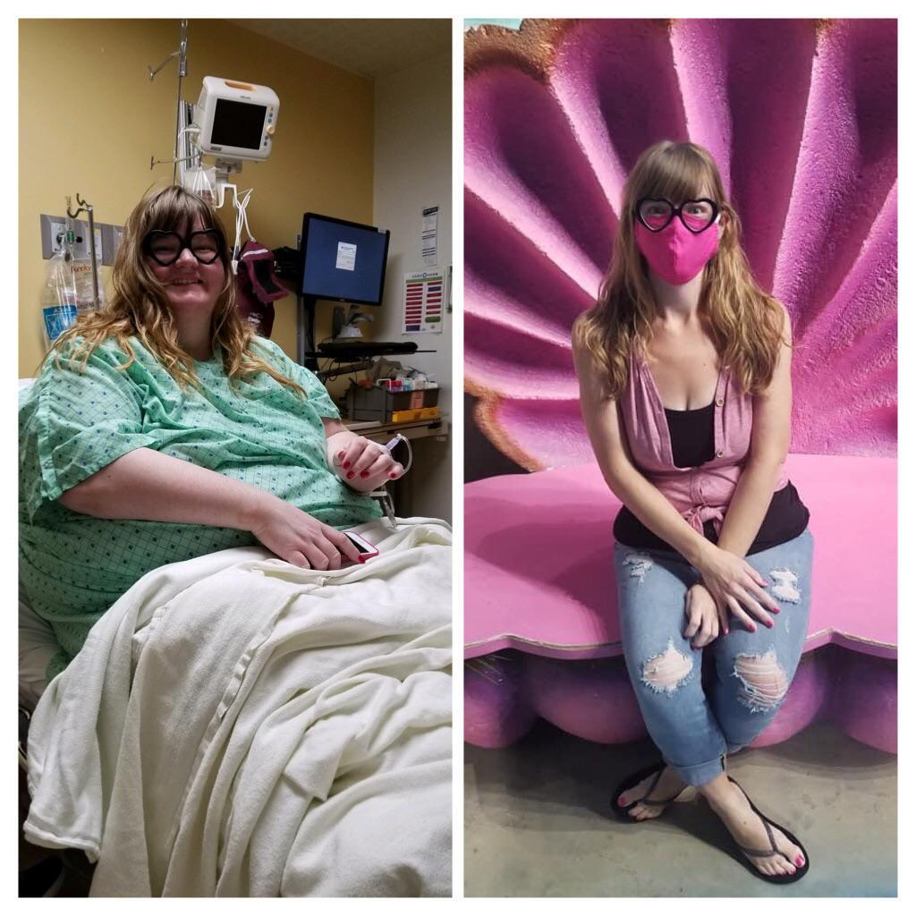 5 foot 6 Female Progress Pics of 257 lbs Fat Loss 425 lbs to 168 lbs