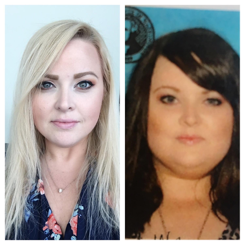Progress Pics of 100 lbs Weight Loss 5'4 Female 304 lbs to 204 lbs