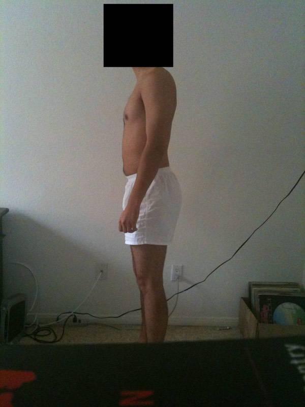 5 Photos of a 184 lbs 6 feet 1 Male Weight Snapshot