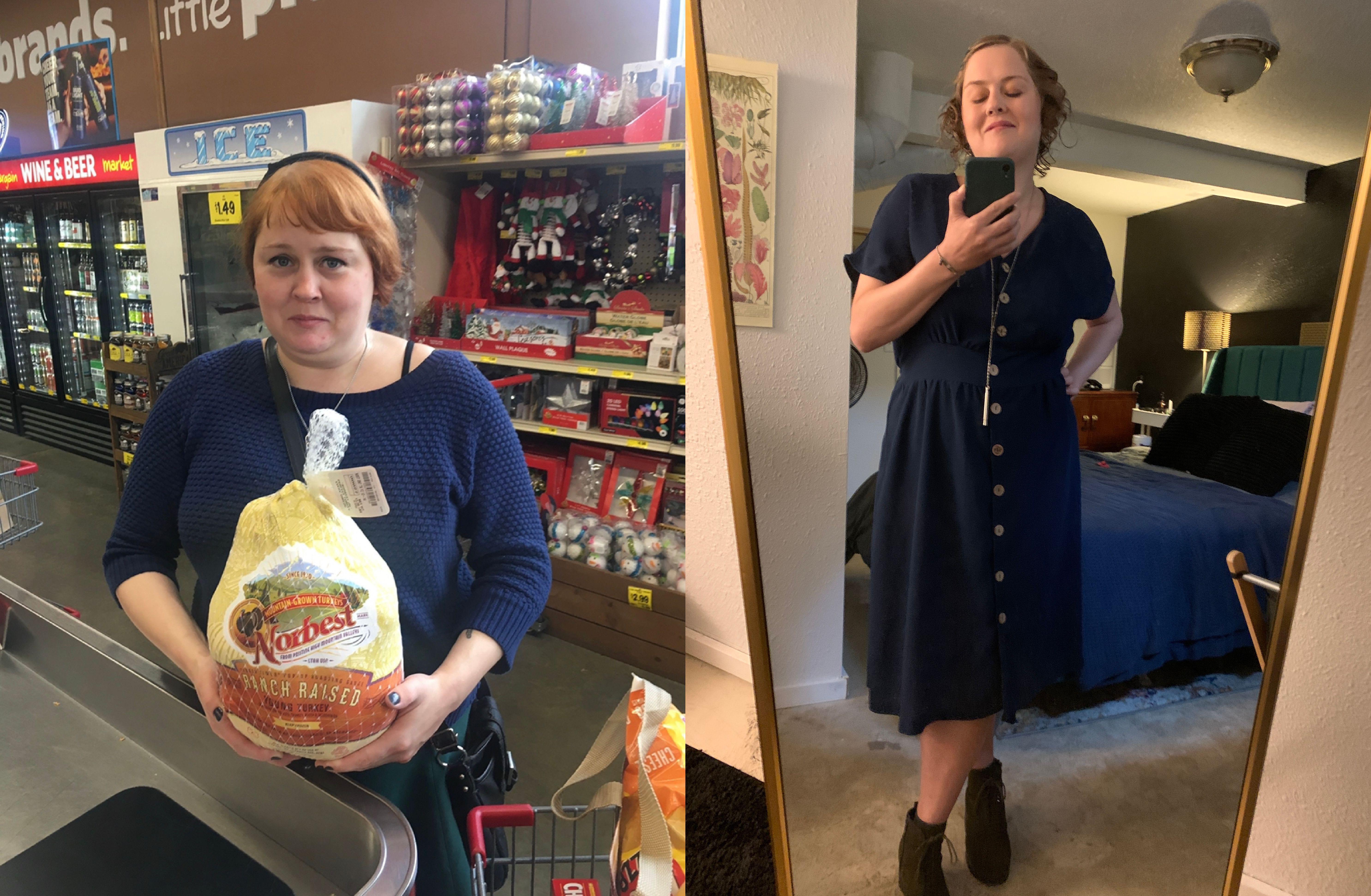 5 foot 6 Female Progress Pics of 70 lbs Fat Loss 230 lbs to 160 lbs