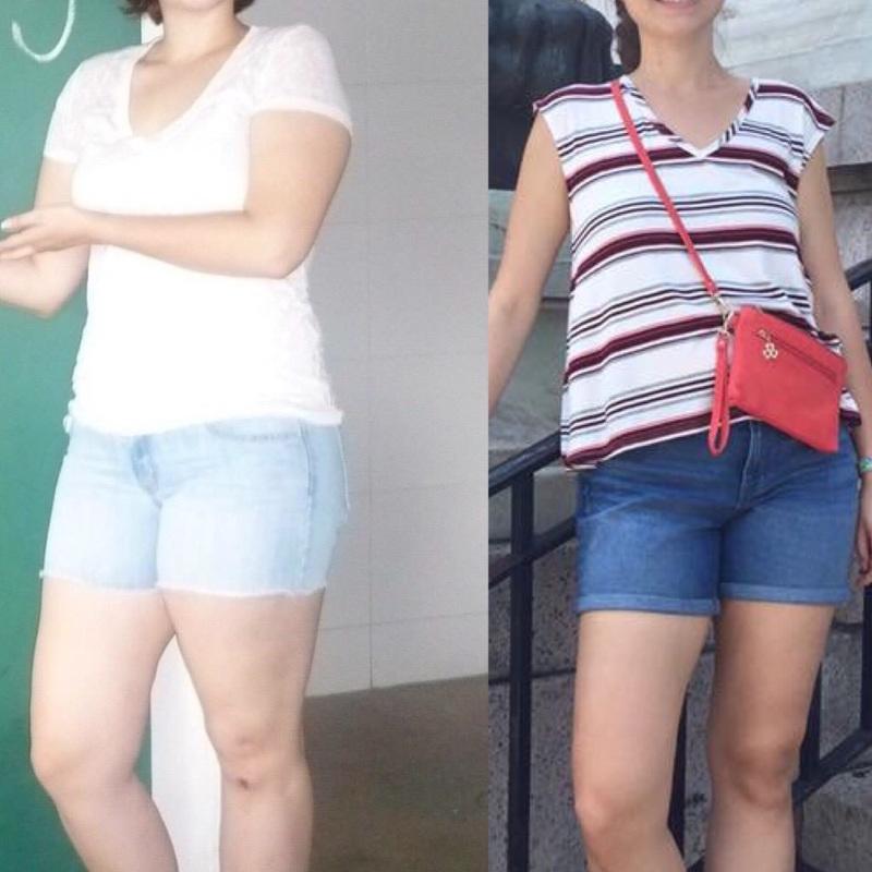 5'9 Female 38 lbs Fat Loss 188 lbs to 150 lbs