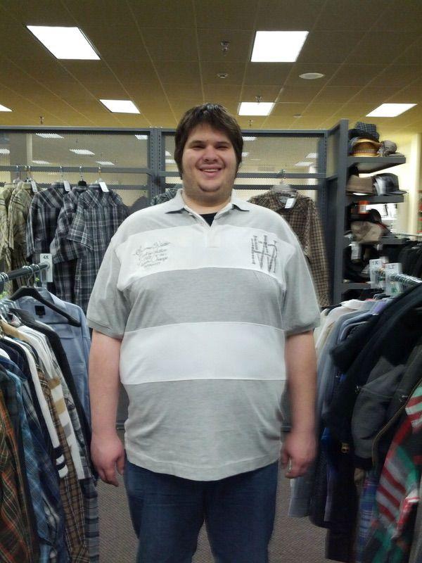 6 feet 6 Male 100 lbs Weight Loss 410 lbs to 310 lbs