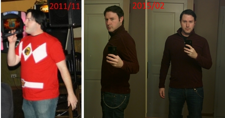 6'1 Male Progress Pics of 50 lbs Weight Loss 245 lbs to 195 lbs