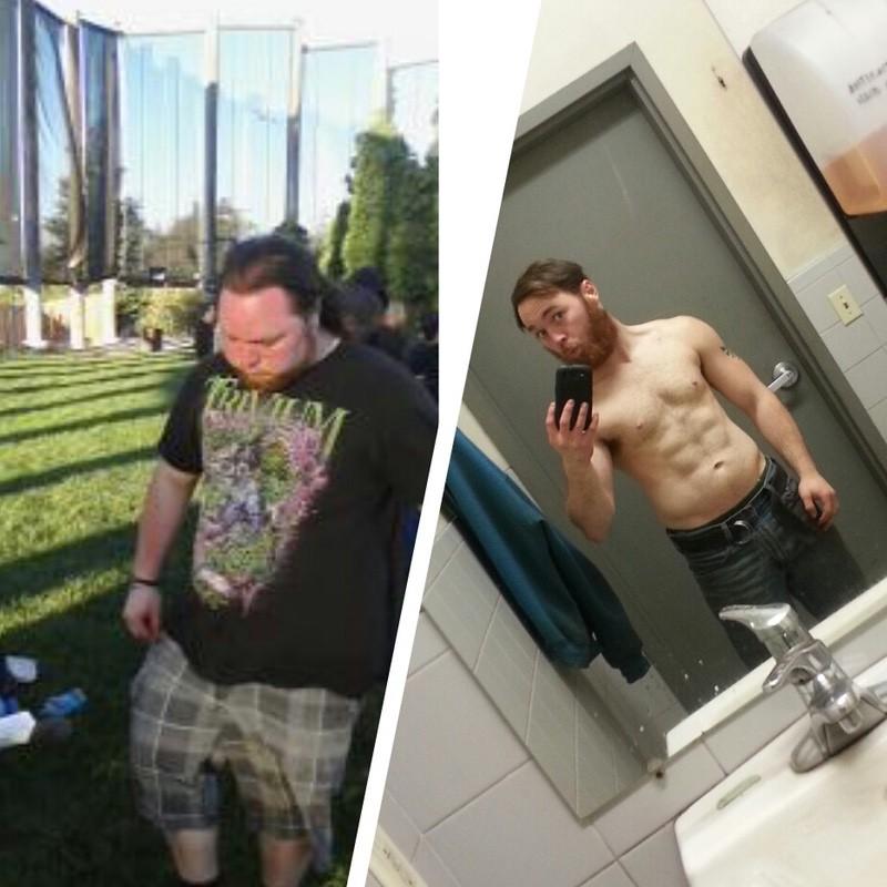 5 foot 6 Male Progress Pics of 72 lbs Weight Loss 235 lbs to 163 lbs