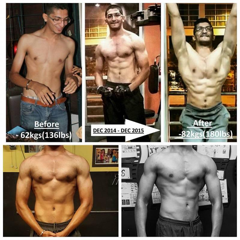 6 feet 1 Male 44 lbs Weight Gain 136 lbs to 180 lbs