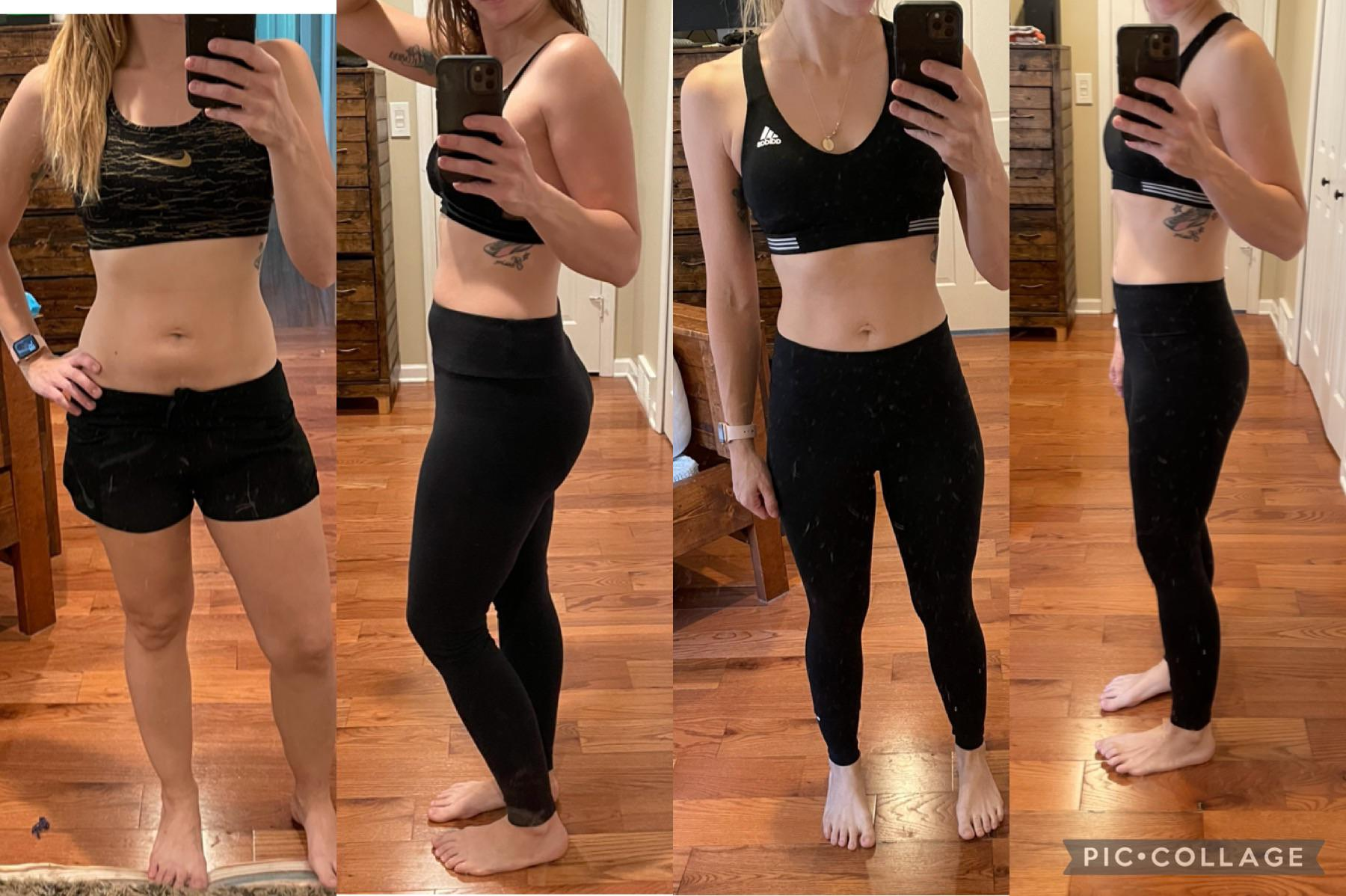 5 foot 5 Female 10 lbs Fat Loss Before and After 132 lbs to 122 lbs