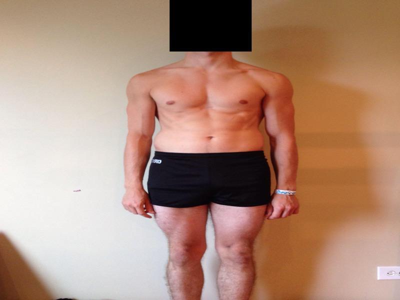 4 Photos of a 141 lbs 5 feet 9 Male Weight Snapshot