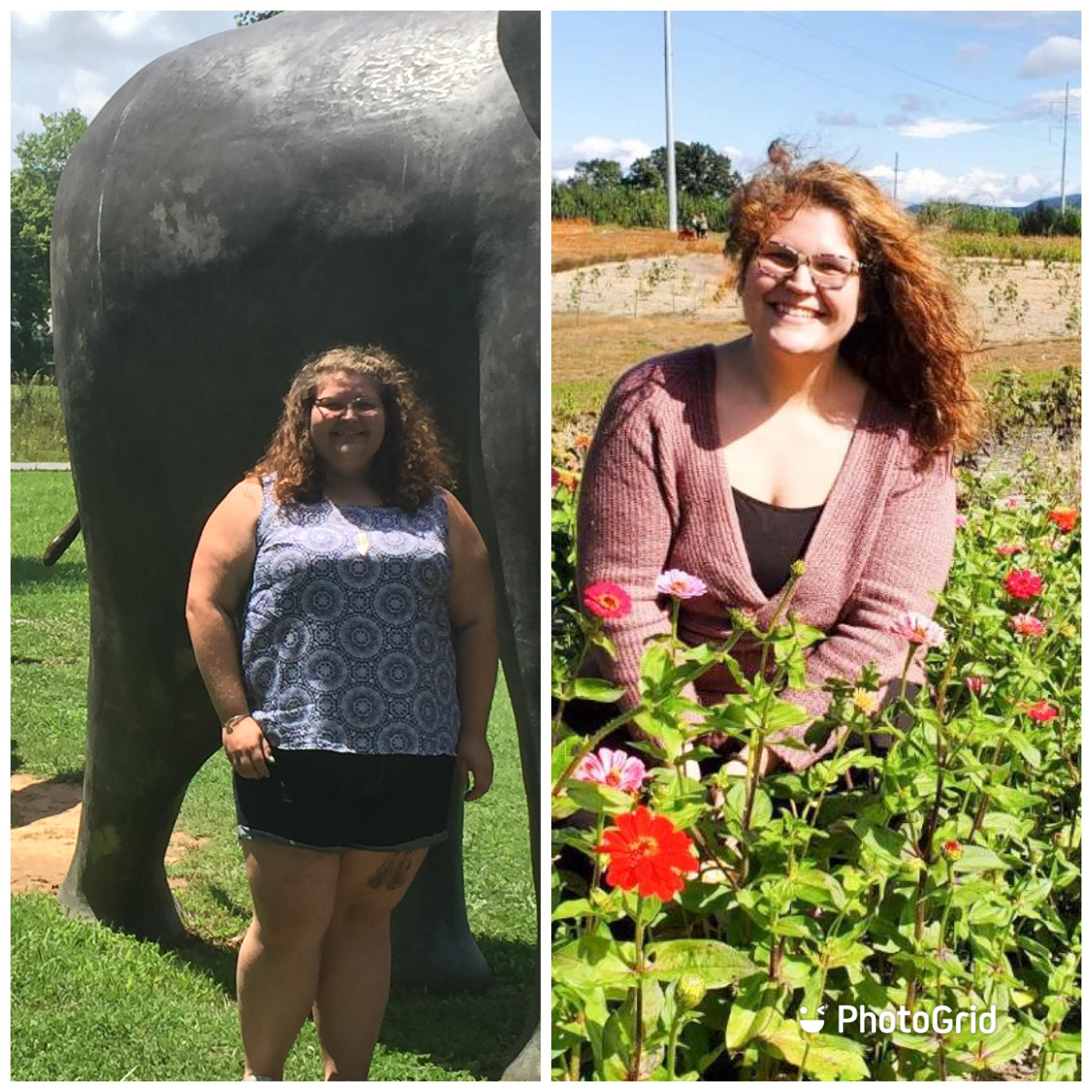 132 lbs Weight Loss 5 foot 10 Female 400 lbs to 268 lbs