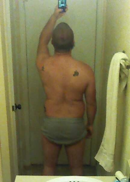 4 Pics of a 200 lbs 5'8 Male Weight Snapshot
