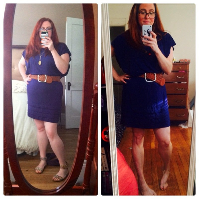 37 lbs Weight Loss Before and After 5'2 Female 179 lbs to 142 lbs