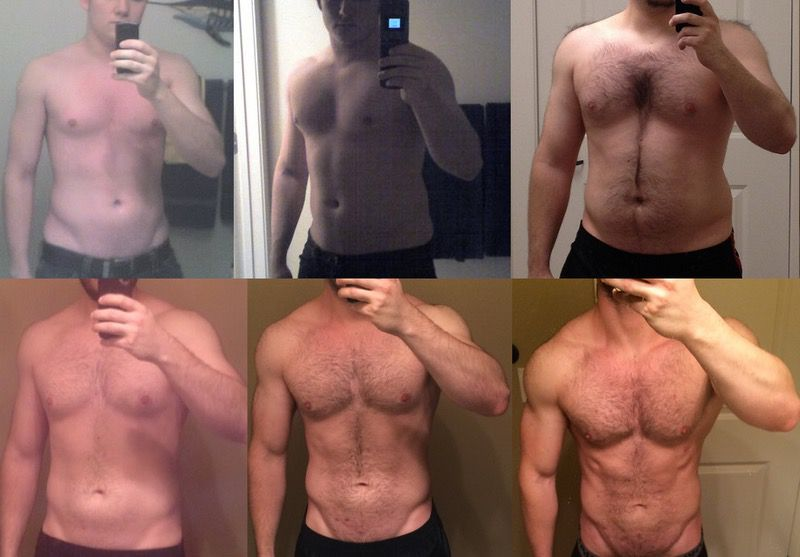 5 feet 11 Male Before and After 38 lbs Weight Gain 155 lbs to 193 lbs