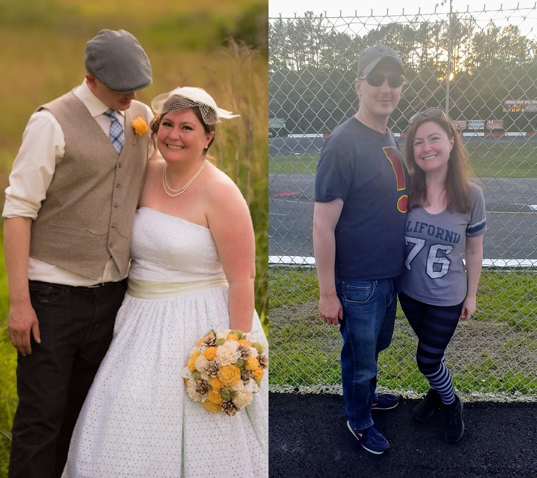 Progress Pics of 80 lbs Fat Loss 5 foot 4 Female 225 lbs to 145 lbs