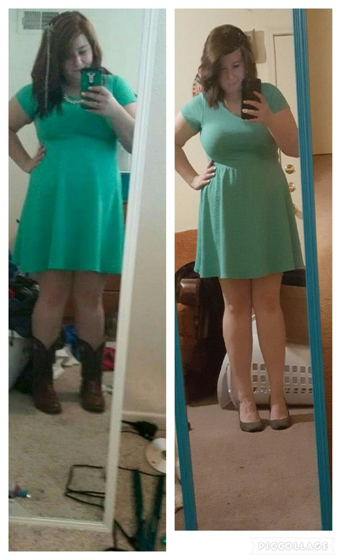 5'4 Female 39 lbs Weight Loss Before and After 226 lbs to 187 lbs