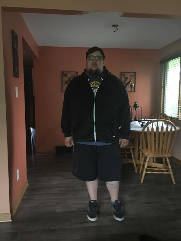 Progress Pics of 50 lbs Fat Loss 6 foot 1 Male 435 lbs to 385 lbs