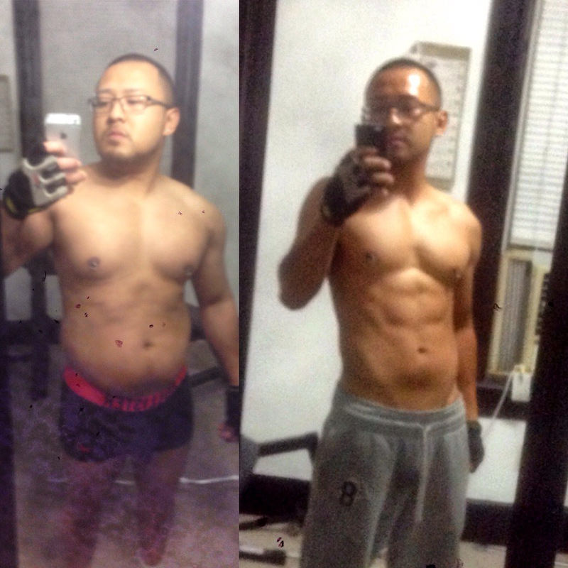 5 feet 2 Male 40 lbs Weight Loss Before and After 160 lbs to 120 lbs