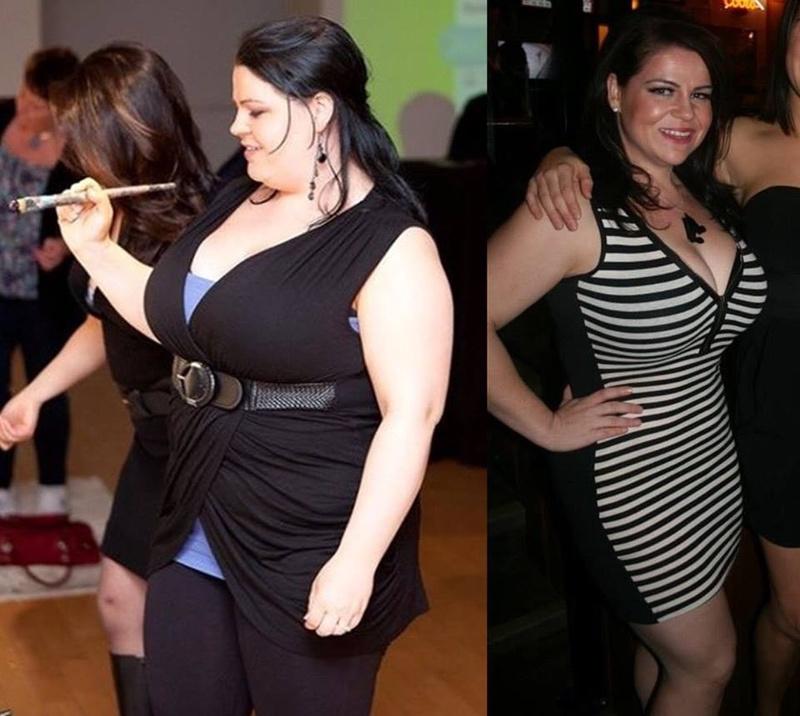 5'1 Female 63 lbs Weight Loss 218 lbs to 155 lbs