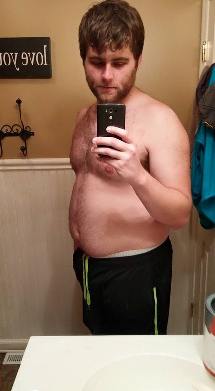 63 lbs Weight Loss Before and After 6'4 Male 272 lbs to 209 lbs