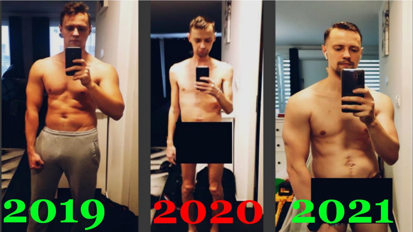 5'10 Male 47 lbs Muscle Gain 108 lbs to 155 lbs