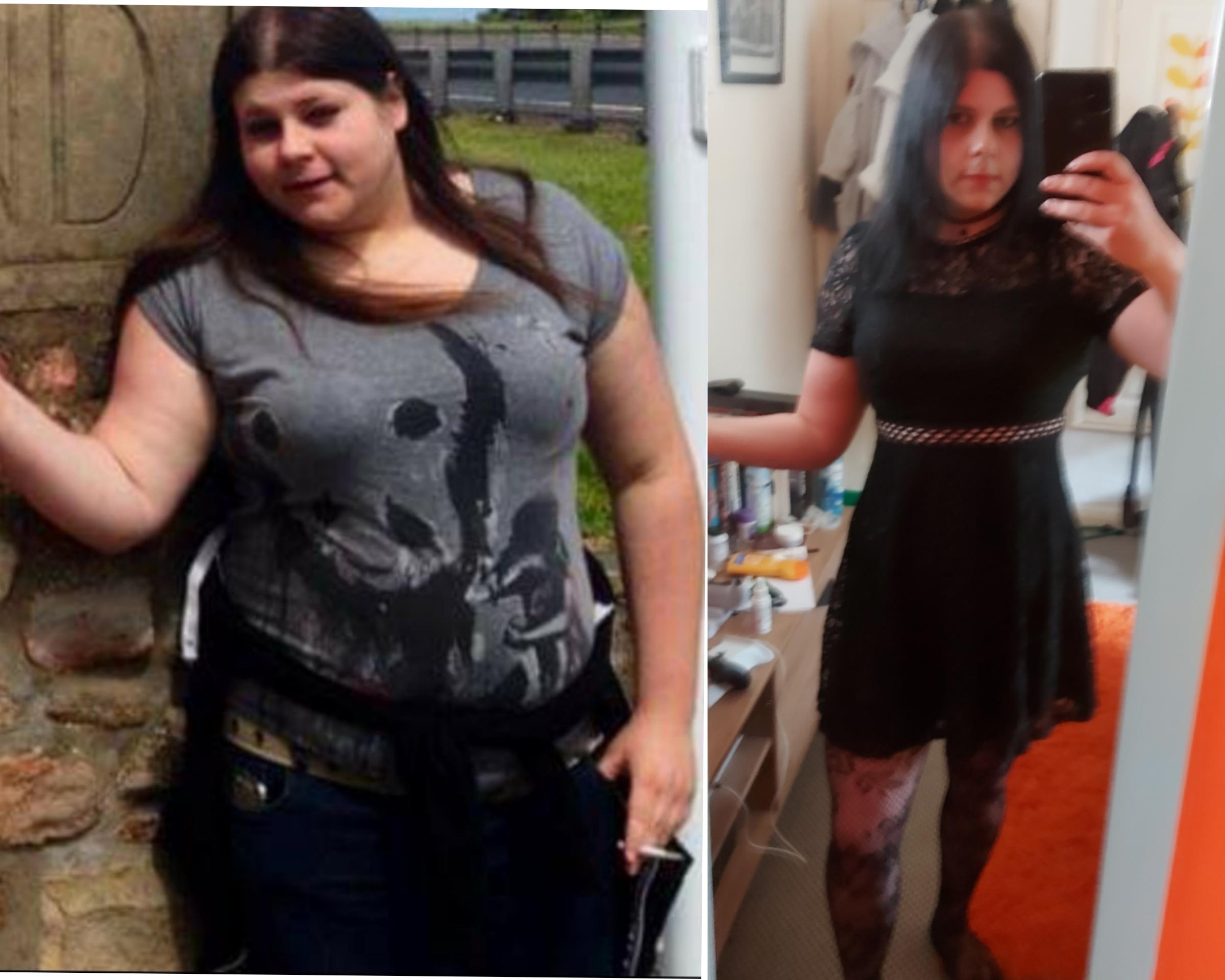 5'9 Female Progress Pics of 74 lbs Fat Loss 240 lbs to 166 lbs