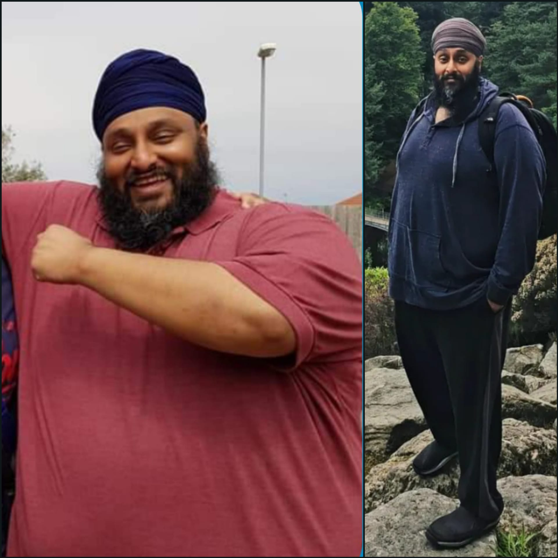 150 lbs Weight Loss Before and After 5'9 Male 460 lbs to 310 lbs