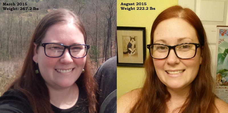 5 feet 9 Female 45 lbs Weight Loss Before and After 267 lbs to 222 lbs